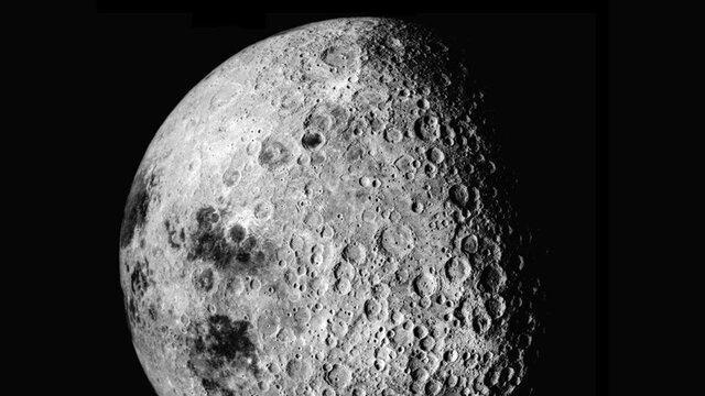 آنالیز سمت پنهان ماه با یک تلسکوپ