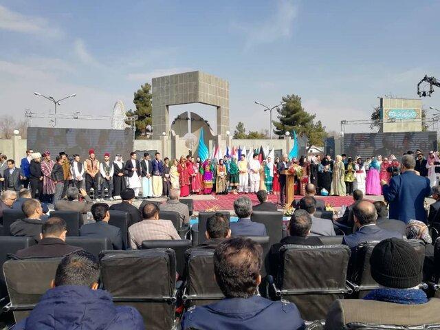 افتتاح پنجمین جشنواره فرهنگ ملل دانشگاه فردوسی