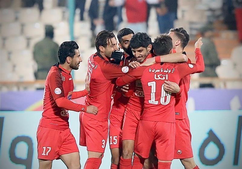 لیگ برتر فوتبال، پرسپولیس؛ پیروز یک نیمه ای دیدار با ذوب آهن