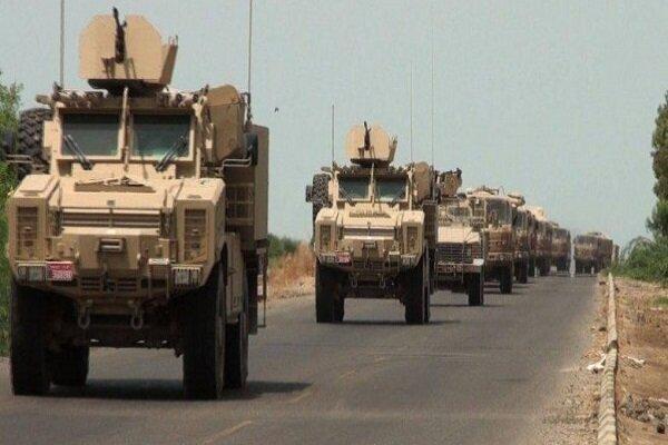 کاروان لجستیک نظامیان آمریکایی در جنوب عراق منهدم شد