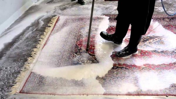 اصول شست وشوی فرش ماشینی