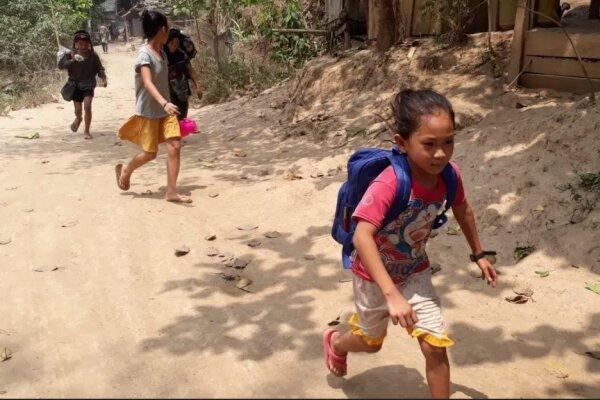 حمله هوایی ارتش میانمار به مناطق روستایی، هزاران روستایی گریختند
