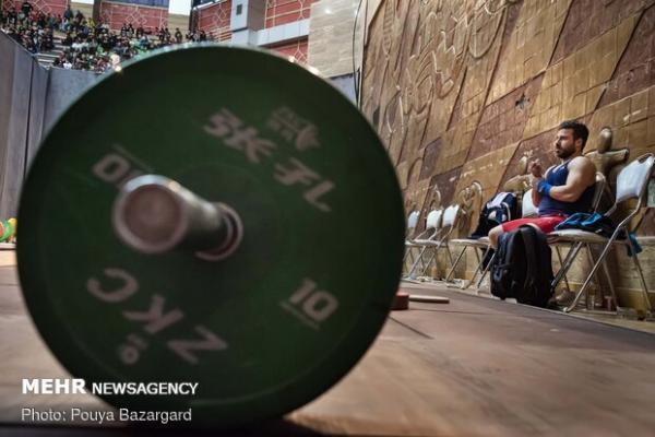 تیم وزنه برداری ایران در جایگاه چهارم ایستاد